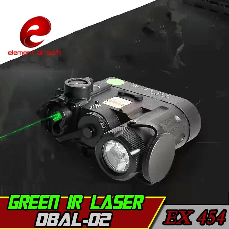 Element Airsoft Weapon Light Green Laser Softair Gun Tactical Wapens Flashlight With IR Laser DBAL D2 Strobo Arsoft Armas Lazer