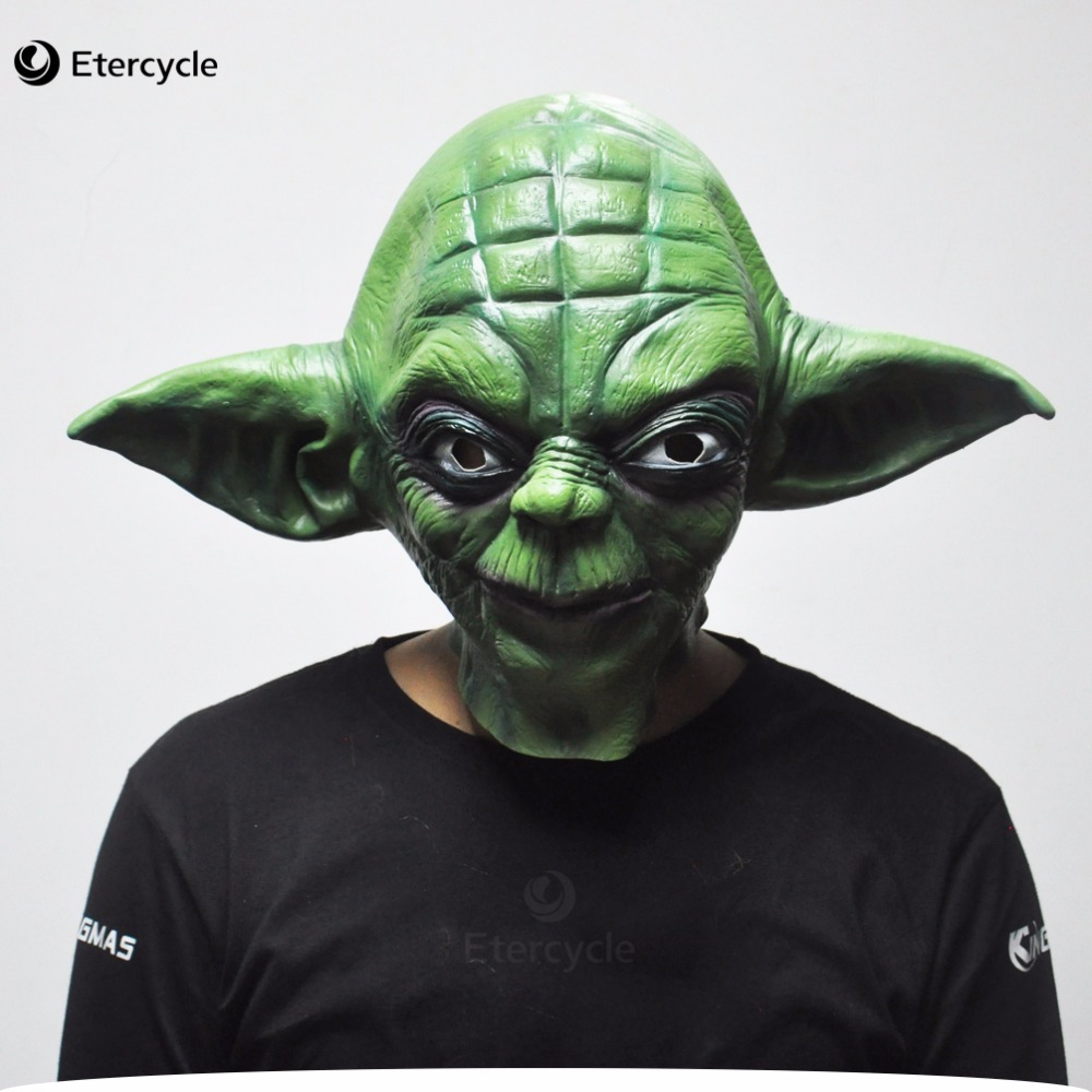 Green Yoda Masks -4972