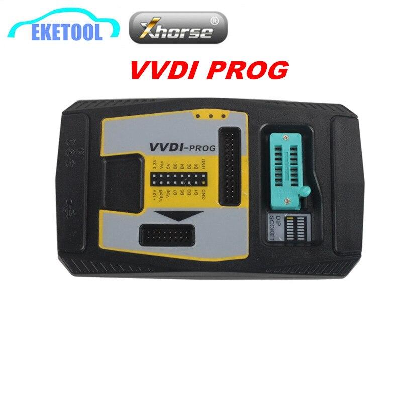 Xhorse VVDI PROG ECU Programmer Latest V4.8.0 100% Original Update Online Multi Language VVDI PROG EEPROM Programmer For BMW