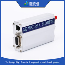 3G wireless USB/RS232 modem in industrial grade modem