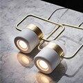 Современный минималистичный бар для ресторана  вращающиеся подвесные лампы с несколькими головками  прикроватные металлические подвесные...