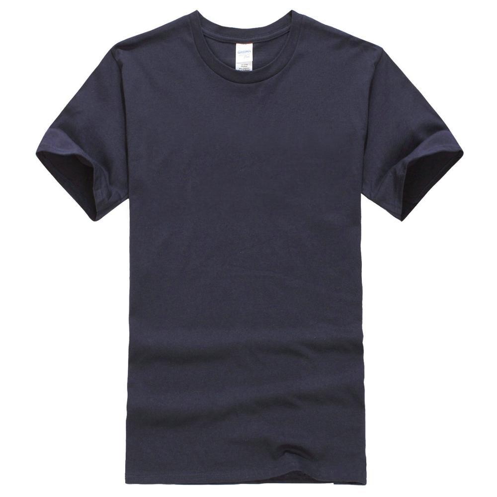 Men Crew Neck Short-Sleeve T Shirt Black Sizes S 5Xl 100% Cotton white back graphic print crew neck short sleeve men s casual t shirt