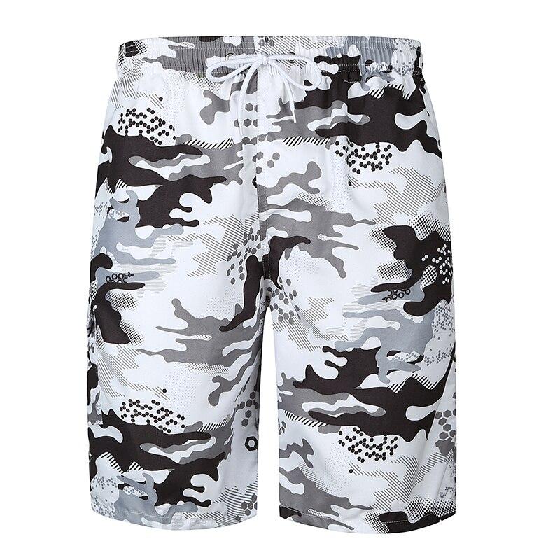 Shorts Mens Bermuda 2018 Summer Camouflage Print Men Beach Hot Cargo Fashion Men Boardshorts Male Brand MenS Short Casual