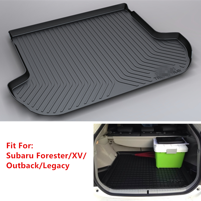YJ99 Custom Fit For Subaru Forester XV Leagcy Outback 2009 2010-2019 TPO Car Cargo Rear Trunk Mat Boot Liner Tray Cargo Liner
