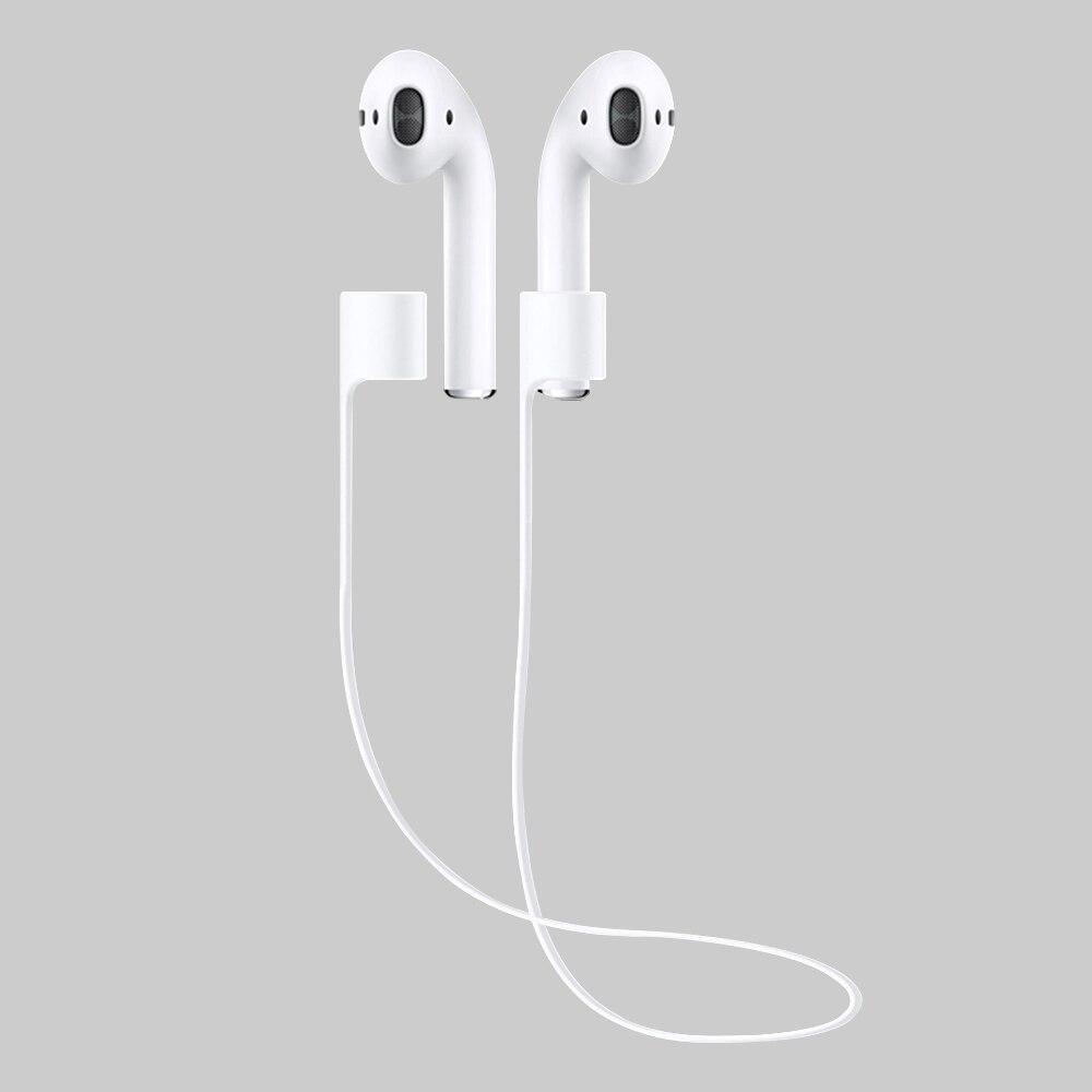 Потерянный ремешок для Apple iPhone 7 airpods предотвратить потерю кабеля силикагель устройства Аксессуары веревочные бретельки