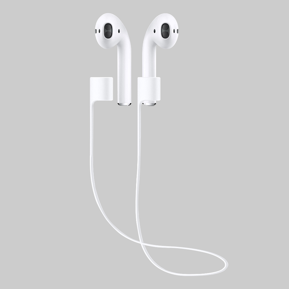 Lost anti strap for apple iphone 7 airpods prevent loss of cable silica gel device accessories