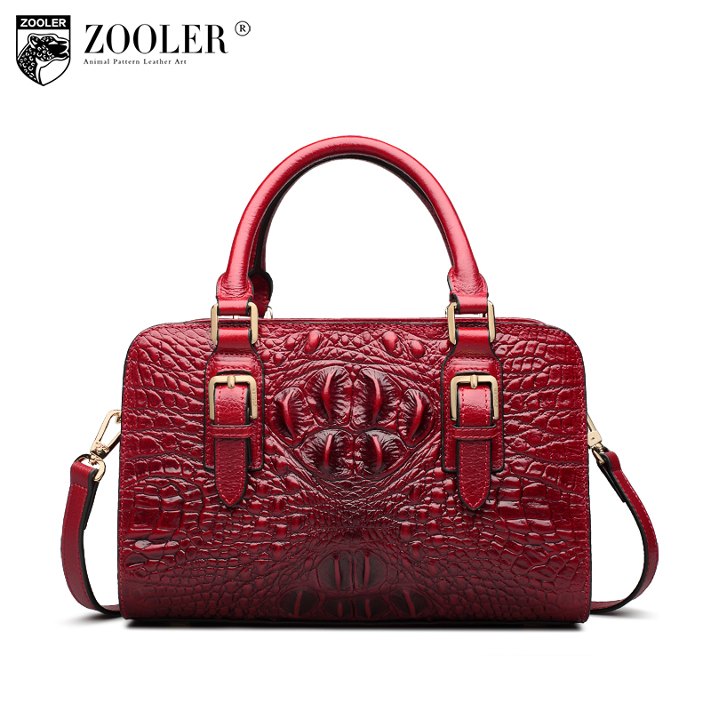 ZOOLER Guarantee 100% Genuine Leather Women Bags 2018 Luxury Brand Designer Handbags Female Fashion Tote Shoulder Bag Sac A Main sisjuly 2017 new leather bag women handbags casual tote luxury brand designer oil wax lady shoulder bags female sac a main