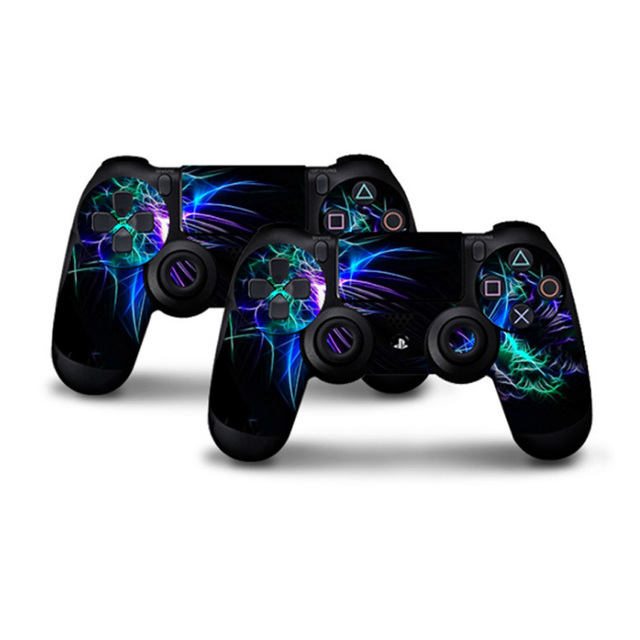 Protector Cover Skin Stickers for PS4 sony playstation 4 Controllers ps4 skin Protector two Controller Skin for PS 4 Controllers 4