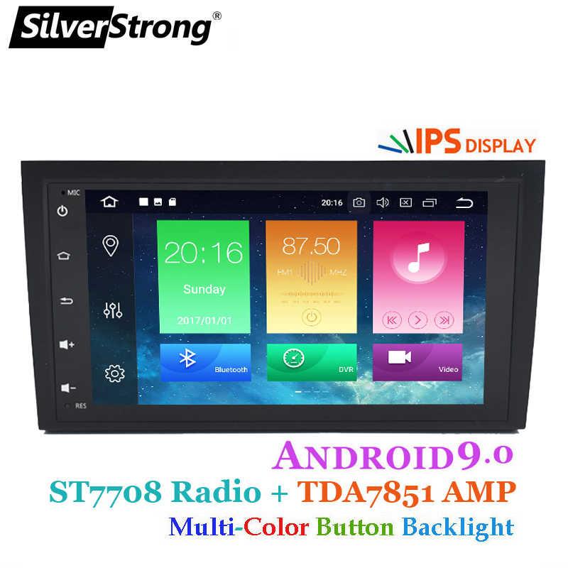 SilverStrong IPS DSP 4 3g アンドロイド 9.0 カー DVD GPS のアウディ A4 RS4 2002-2011 マルチメディアプレーヤーステレオラジオ