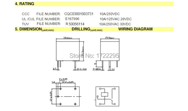 Free Shipping 100pcs 12v Relay 5 Pin Conversion Type 250vac Srd