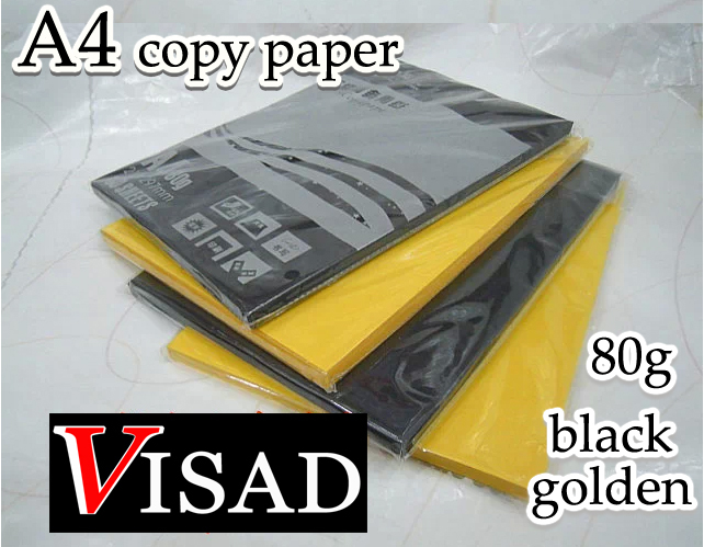 free shipping VISAD 80g 100pcs/lot black and golden A4 copy paper hand origami paper Wholesalefree shipping VISAD 80g 100pcs/lot black and golden A4 copy paper hand origami paper Wholesale