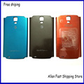 Original Battery Door Back Cover Case For Samsung Galaxy S4 Active i9295 i537 Housing +Logo ,Gray /Orange /Blue Color
