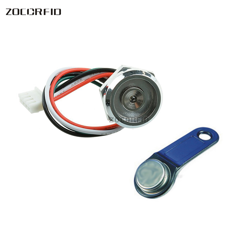 Ds1990a Ibutton Ds9092 With Red Led Light Zinc Alloy Socket Probe-reader Back To Search Resultssecurity & Protection Access Control Cards Hard-Working Free Shipping
