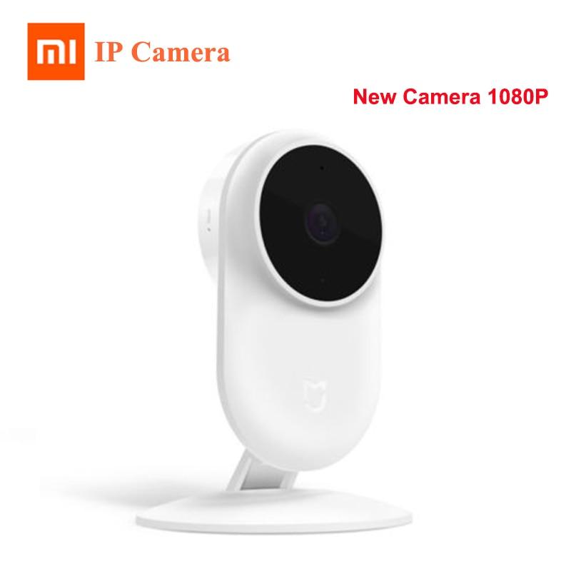 Original Xiaomi Mijia New 1080P IP Camera 130 Degree FOV Night Vision 2.4Ghz Dual band WiFi Xiaomi Home Kit Security Monitor