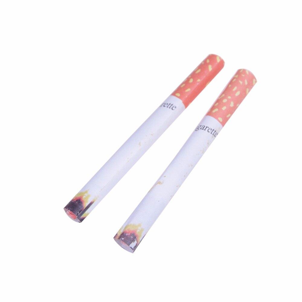 Hot Sale Funny 2 Fake Cigarettes Fag Smoke Effect Lit End Joke Prank Novelty Trick Fancy Gift For Sale Funny Toy Practical Jokes