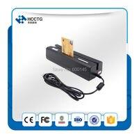 Многофункциональный 3 трек magstripe в полоску скиммер/Smart чип IC картридера писатель/NFC чтения/PASM чтения и писатель HCC80