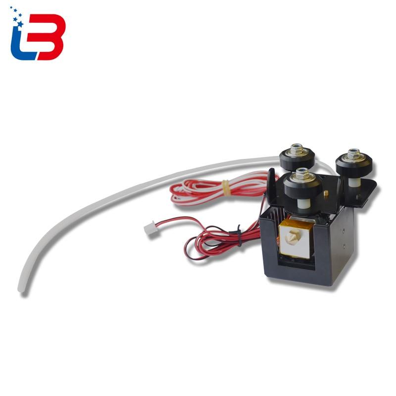 Tronxy X3 3D imprimante complète Extrudeuse Bowden avec tube thermistance D-roulement ventilateur de refroidissement tube de chauffage pour kit DE BRICOLAGE - 2