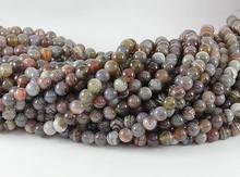 100% натуральный ботсванский Агат e 4 мм 6 8 10 12 простые круглые