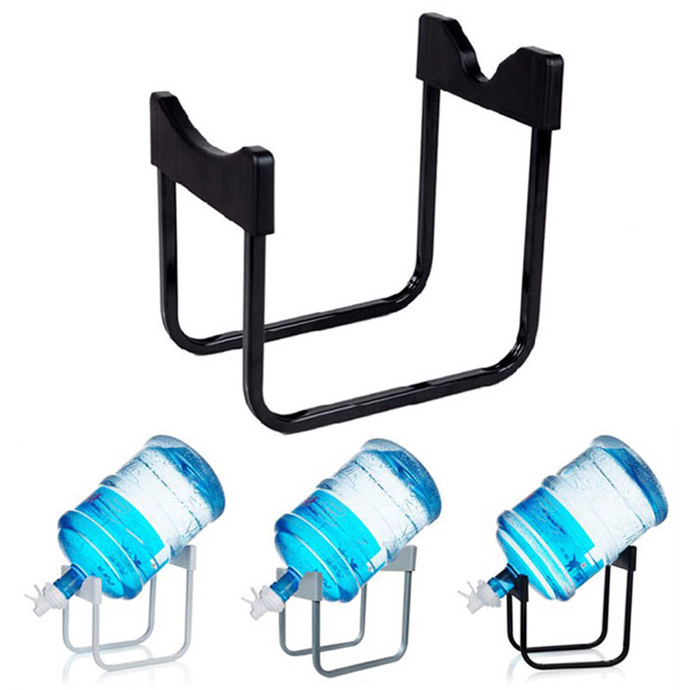 Non-slip Drinking Water Cooler Holder Rack Metal Gallon Water Jug Stand with 55mm Dispenser Nozzle Valve Hot Sale