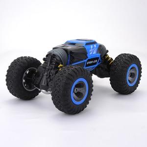 Image 4 - Cymye voiture radiocommandée 4WD Double face, 2.4GHz, une clé, Transformation, véhicule tout terrain, Varanid, camion descalade