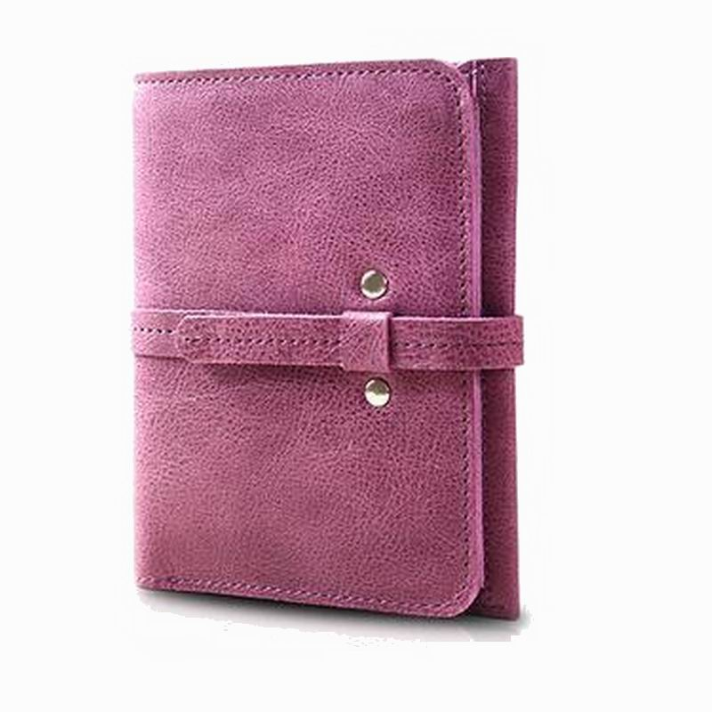 100% Genuine Cow Leather short design large capacity womens wallet Female Wallets Female Purse Bag Carteras Mujer