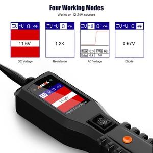 Image 5 - Ancel Powerscan 12V Auto testeur de Circuit de voiture système électrique outil de Diagnostic Super puissance sonde voiture AC testeur de tension cc PB100