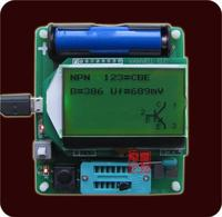 large screen M8 transistor tester upgrade M328 version ESR LC meter multifunctional tester without battery