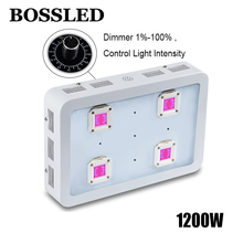 BOSSLED Dimmable 1200W LED Grow light Full Spectrum For indoor Plants fruit flower growing houseplant  hydroponic led grow light
