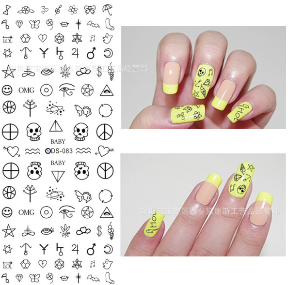 How To Make Your Own Nail Art Decals Ideas