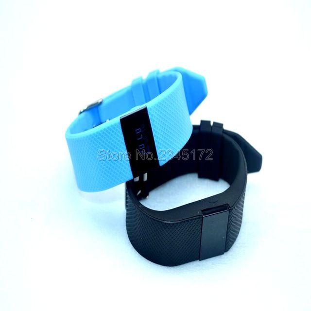 Tw64s banda inteligente de ritmo cardíaco monitor de fitness pulsera actividad rastreador pulsera para ios android teléfono móvil pk mi banda