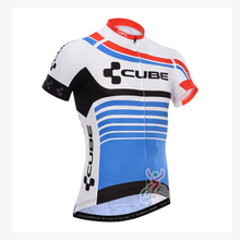 2016 New CUBE Cycling Short sleeve jersey Bicycles Pro Team Hot Outdoor Sport high quality Breathable ropa ciclismo hombre