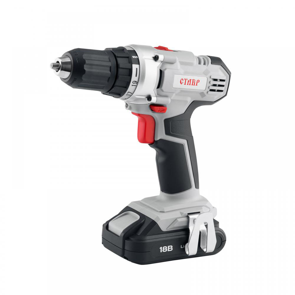 Drill driver battery Stavr DA-18 2lm cordless drill with lithium battery kalibr da 18 2 18b 2 li ion battery 2 speed screw driver power tools mini drill