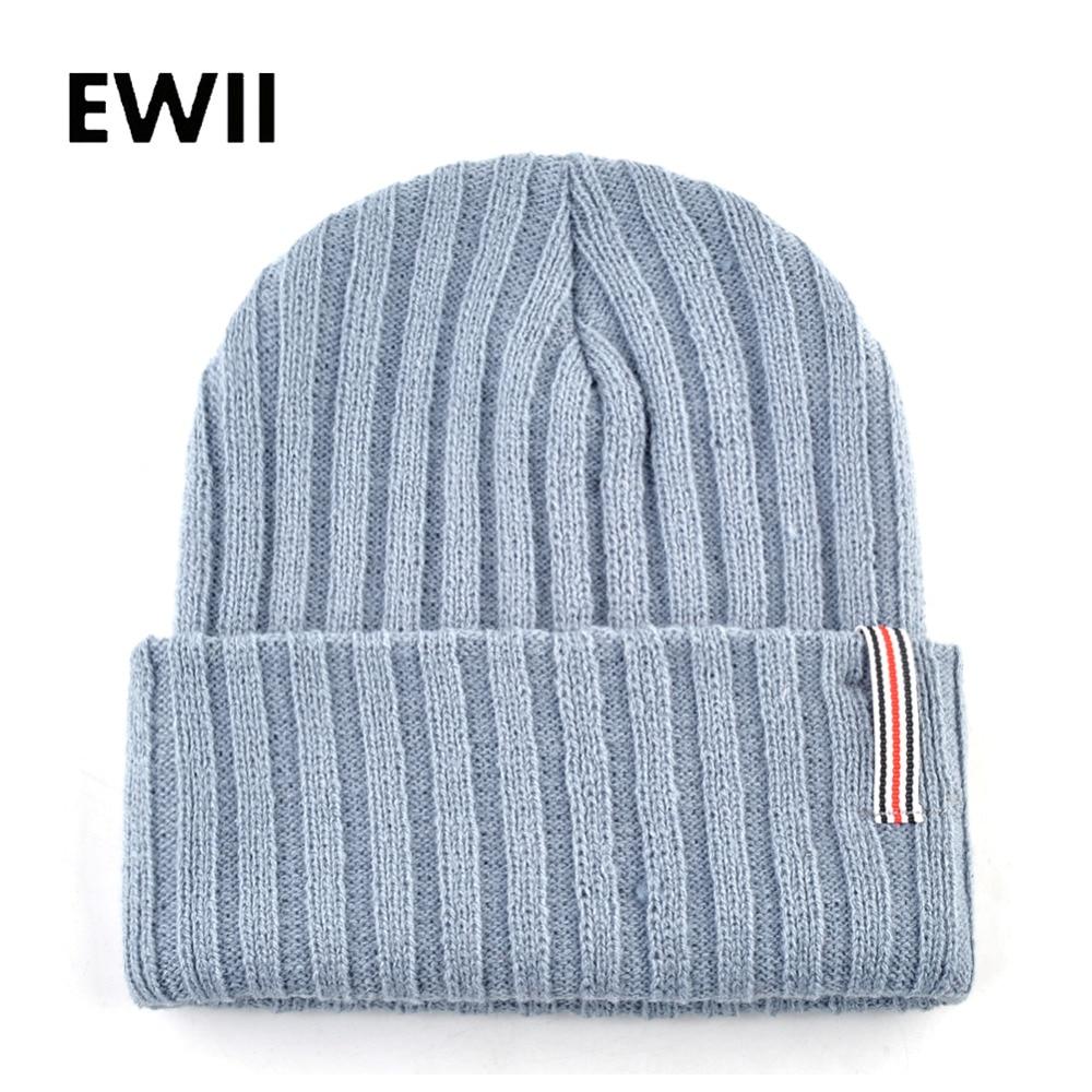 Autumn knitted wool hats for men winter cap women   skullies     beanies   women fashion   beanie   caps men bonnet unisex warm hat bone