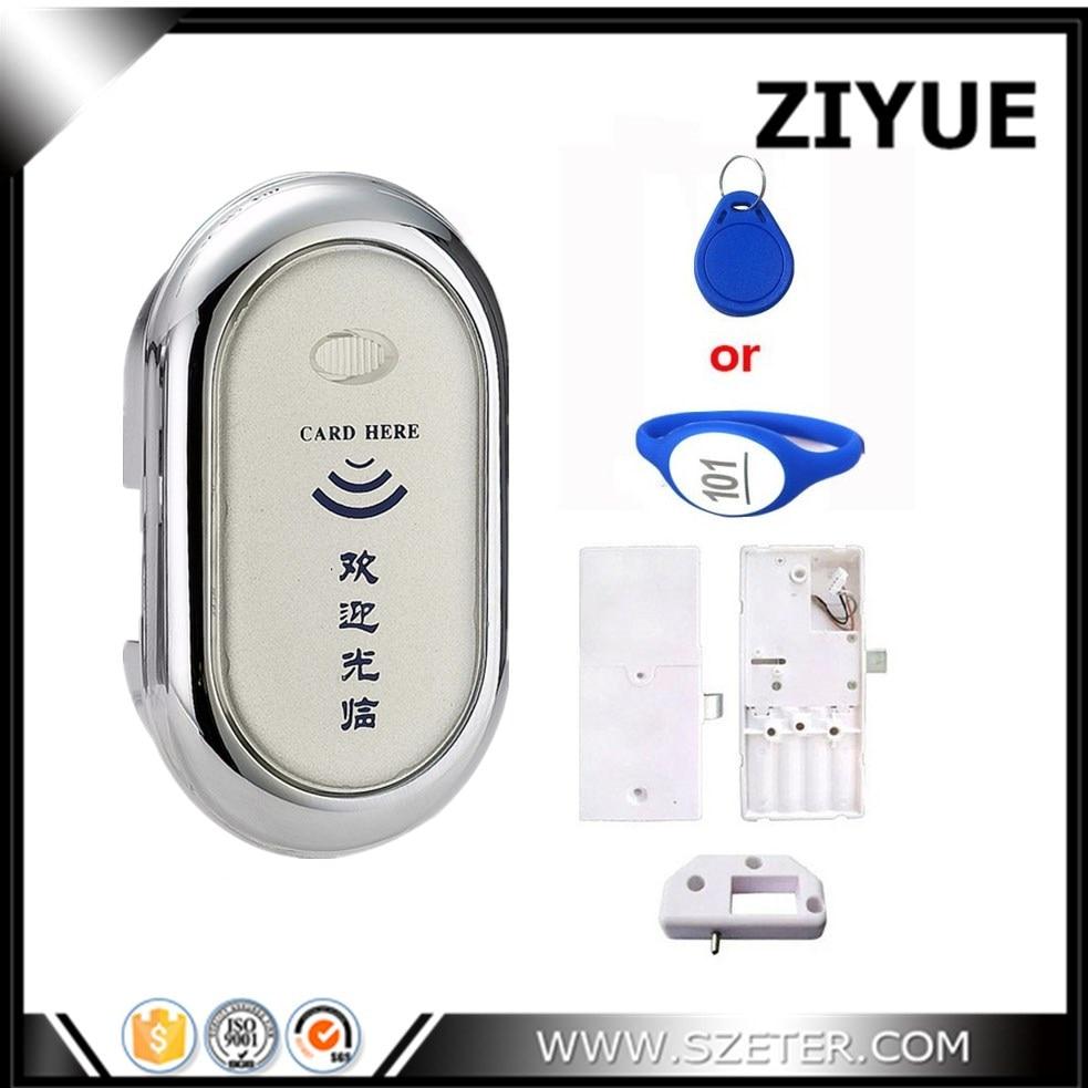 125Khz RFID EM Bracelet Card Electronic Locker Lock, Cabinet Sauna Lock for Office Hotel Home Swimming Pool