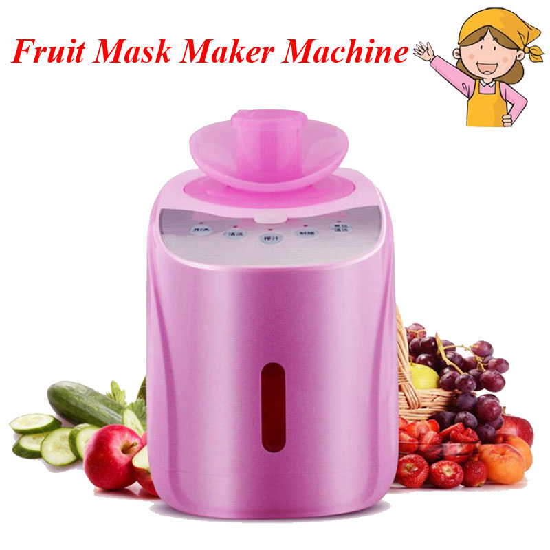 DIY Pure Natural Automatic Fruit and Vegetable Face Mask Machine for Men Women Makeup Fruit Mask Maker Machine