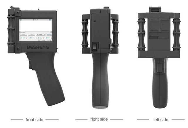 600 dpi כף יד חכם תאריך המתכנת הזרקת דיו מדפסת דיו קידוד מכונת LED מסך עבור מזון אריזה תווית מכונה, פלסטיק, זכוכית