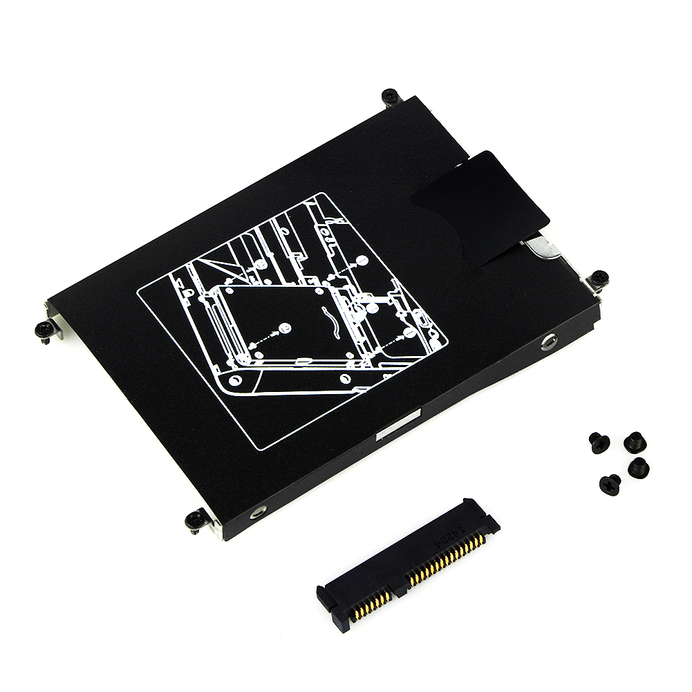 New Hard Drive Hdd Caddy Connector For Hp Elitebook 820 720 725 G1 Mdisk Kabel Charger And Data Usb Micro High Speed Led G319 Frame Bracket W Screws G2