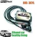 E85 etanol kit 3cyl fábrica compatível com 98% de veículos a gasolina 3cyl, etanol carro gasolina modificação acessórios e85