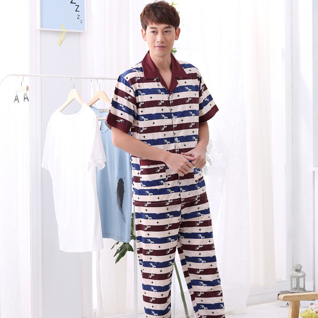 New Summer Thin Short Sleeve Suit Manufacturers Wholesale Homewear Comfortable Casual Breathable Pajamas