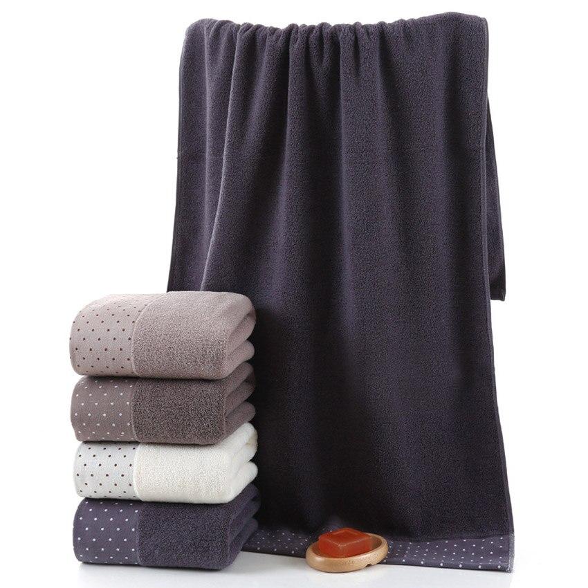 Image 5 - Large Cotton Bath Shower Towel Thick Towels Home Bathroom Hotel For Adults Kids Badhanddoek Toalha de banho Serviette de bain-in Towel Sets from Home & Garden