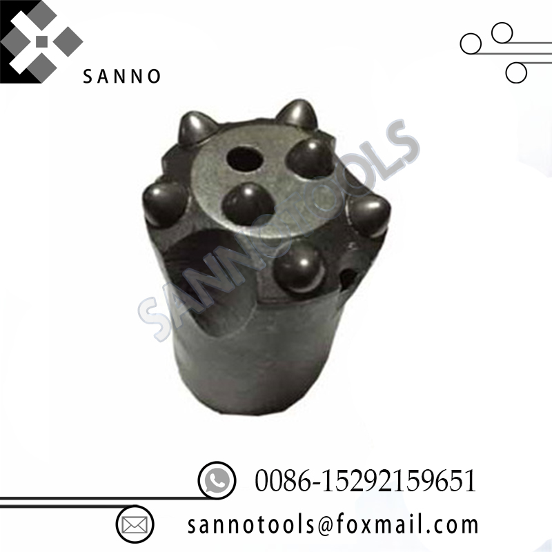 цена на 6 Teeth and 7 teeth taper button bits, mining drill bits for rock drilling and mining 38mm -42mm hard spherical cemented
