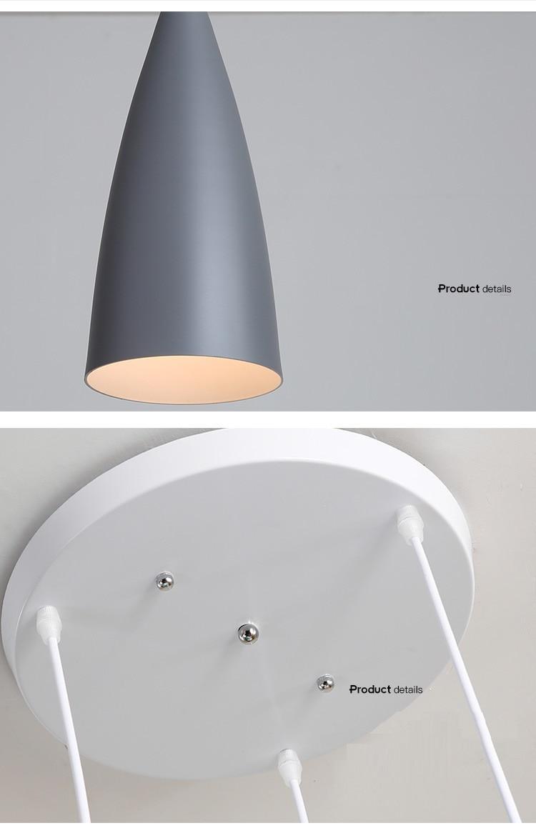 LuKLoy Modern Pendant Light Kitchen Hanging Lamp Dining Room Kitchen Lighting Fixture Loft Decor Wood Hanglamp luminaire Lustre (16)