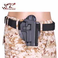 CQC P226 Pistolera de Caza ABS Plástico pistola Pistolera de la correa de cintura Bolsas revista pouch Fit para la Pistola de Aire suave venta al por mayor