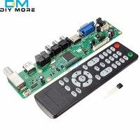 V29 Universal LCD TV Controller Board TV Motherboard VGA HDMI AV TV USB New