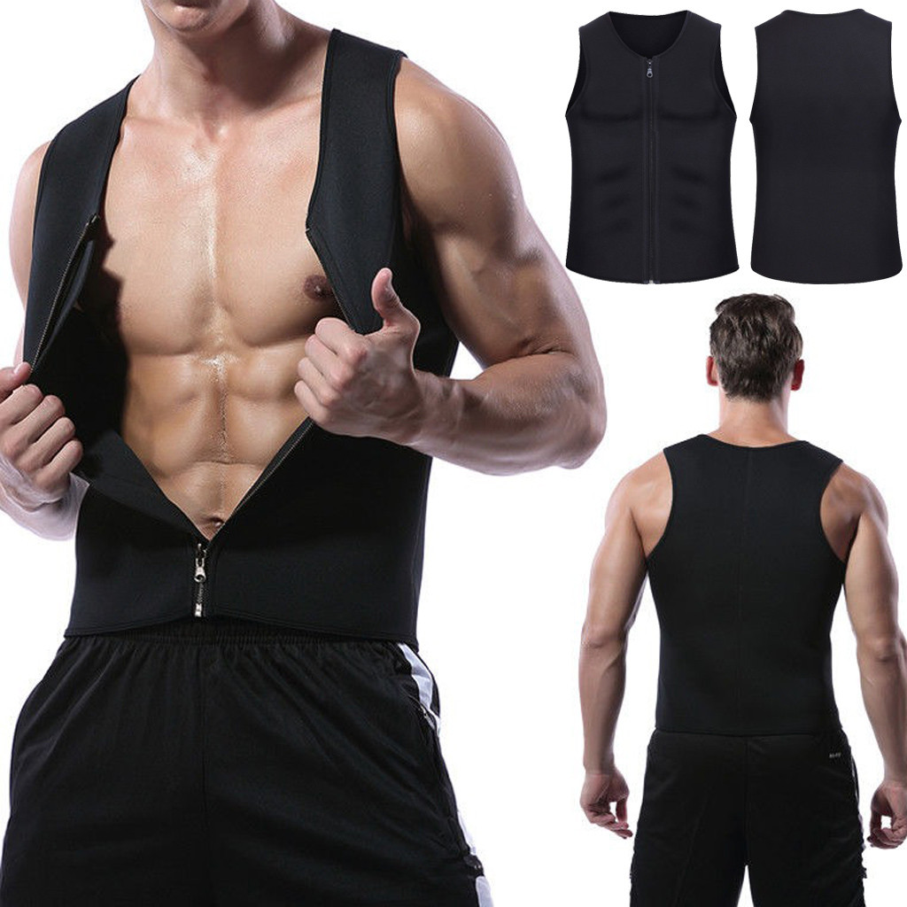 Casual Spring Fitness   Tops   Men Gym Clothing Zipper   Tank     Top   Canotta Bodybuilding Clothes Gorilla Wear Musculation Erkek Giyim 10