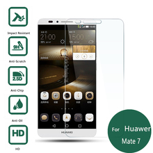 For Huawei Ascend Mate 7 Tempered Glass Display screen Protector 2.5 9h Security Protecting Movie on Mate7 Matt MT7-CL00 MT7-TL00 MT7-TL10