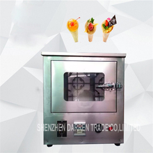 High quality Commercial Pizza machine cone maker sweet pizza tube machine enclosed oven 110V and 220V
