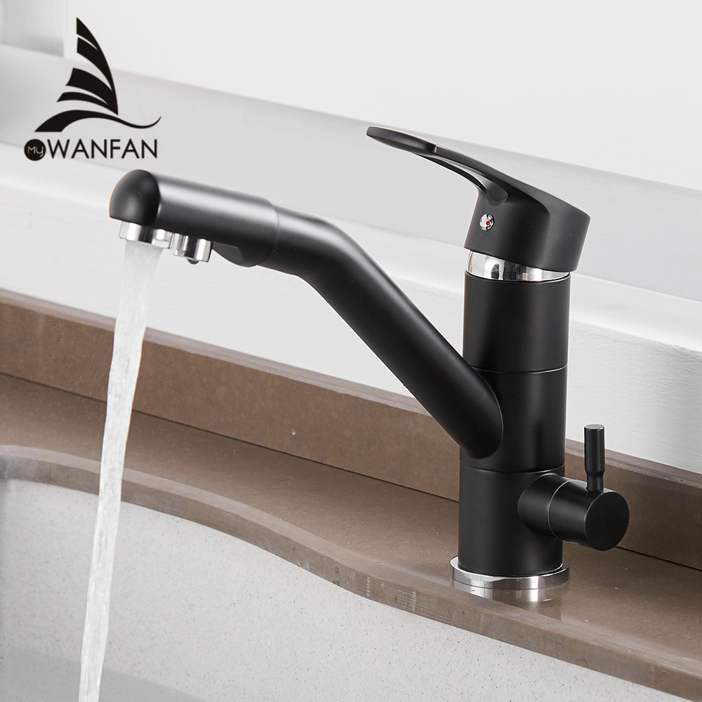 Kitchen Purify Faucets Mixer Tap 360 Degree Rotation With Water Purification Features Mixer Tap Crane For Kitchen WF-0182