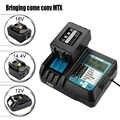 14,4 в-18 в 3.5A 3.0A быстро Батарея Зарядное устройство для Makita BL1415, 1420,1830, 1840,1850, 1860 Мощность инструмент с дисплеем и USB порт