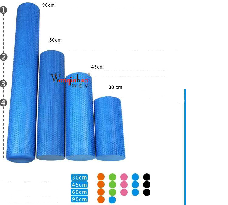 High Density Floating Point Fitness EVA Yoga Foam Roller for Physio Massage Pilates Tight Muscles Gym